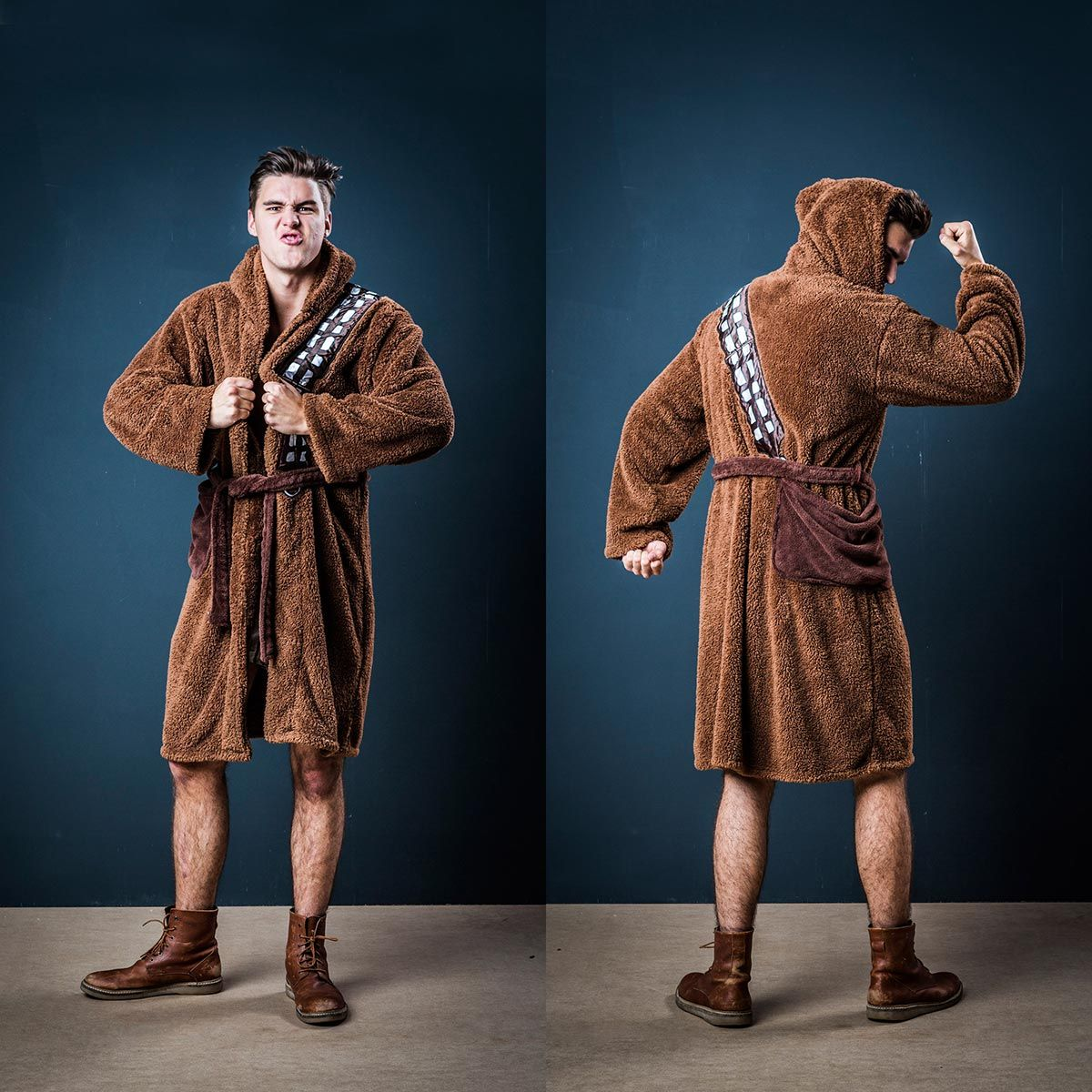Originelle Geschenkideen - Chewbacca Bademantel - Star Wars