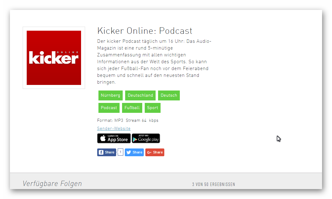 Kicker-Podcast