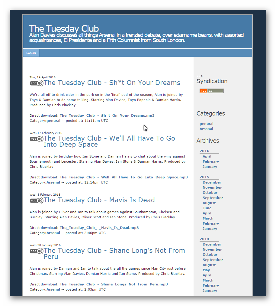 The Tuesday-Club