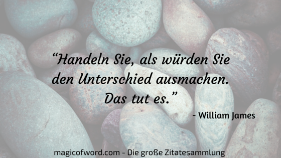 Zitat von William James